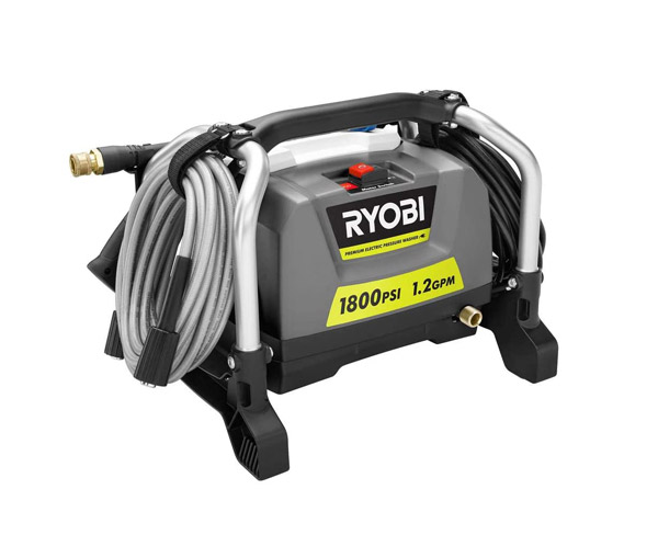 Best Ryobi RY141812G 1800 psi Electric Pressure Washer Review