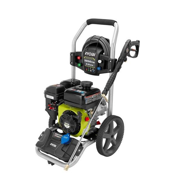 Box of Ryobi RY80588A 3200 PSI Pressure Washer Review