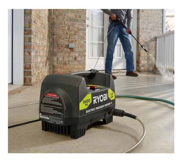 Ryobi RY141612 Portable Electric Pressure Washer Review