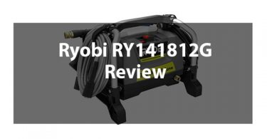 Ryobi RY141812G 1800 psi Electric Pressure Washer Review