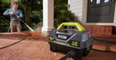 Ryobi RY141820VNM Portable Electric Pressure Washer Review