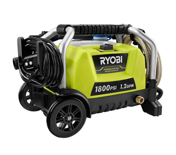 Ryobi RY1418MT Portable Electric Pressure Washer Review