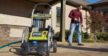 Ryobi RY141900 2000 PSI Electric Pressure Washer Review