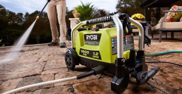 Ryobi RY1419MTVNM Cold Water Electric Pressure Washer Review