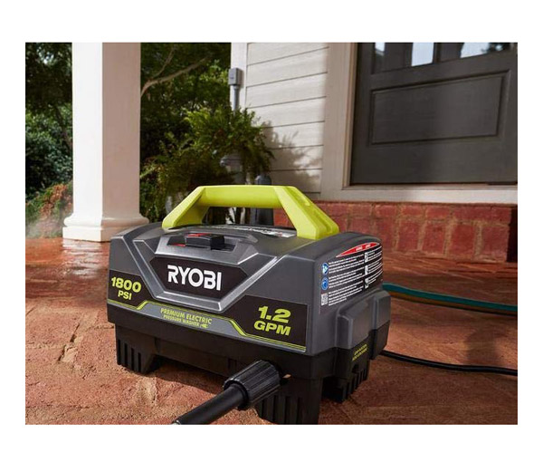 best Ryobi RY141820VNM Portable Electric Pressure Washer Review