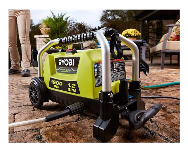 best Ryobi RY1419MTVNM Cold Water Electric Pressure Washer Review